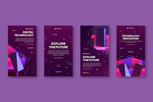 Технологии и истории будущего в instagram