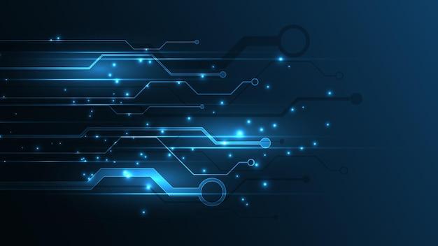 技術背景回路基板ハイテク通信概念革新抽象的な背景ベクトル図