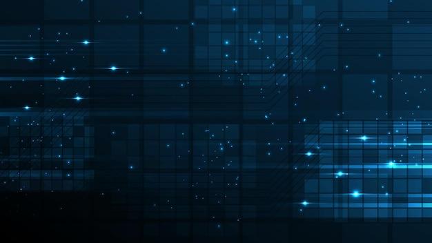 Технологический фон hi-tech коммуникационная концепция инновации абстрактный фон