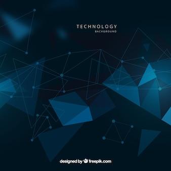 Технология фон в абстрактном стиле