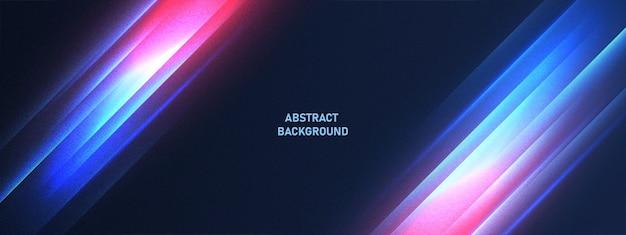 Технологический фон с абстрактным блестящим световым эффектом