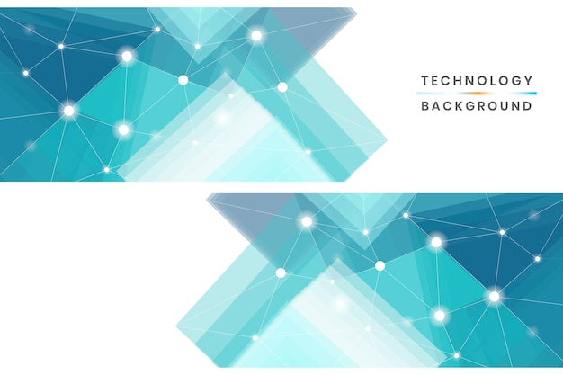 Technology banners set