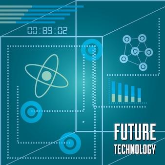 기술 막대 통계 다이어그램 및 회로