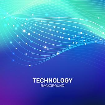 Технология больших данных градиентный фон