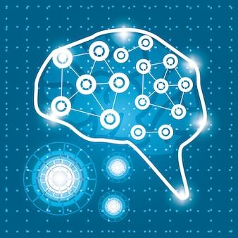 회로 연결 기술 두뇌 연결