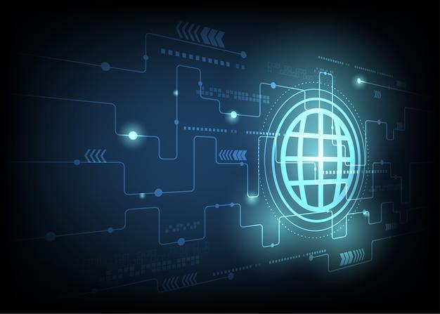 地球と技術概念の背景