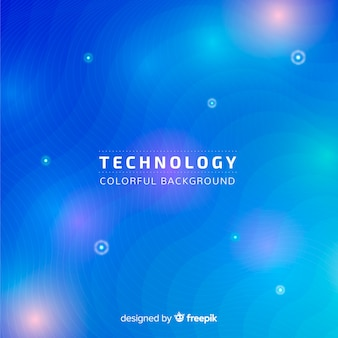 Technology concept background