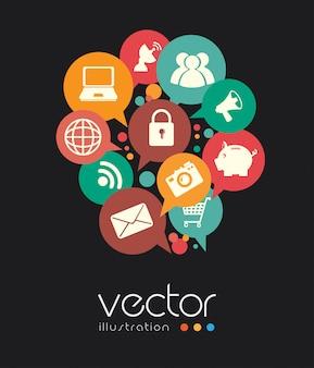 Technology design vector illustration
