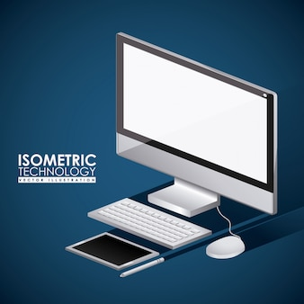 Technology design, vector illustration.