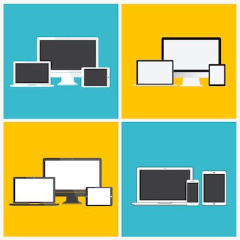 Technology Digital Device Icon Concept