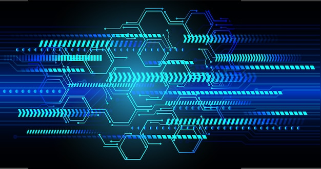 Technology digital future abstract background
