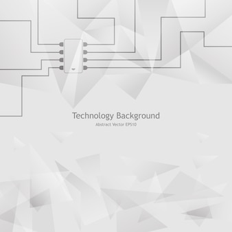 Technology electronic abstract background
