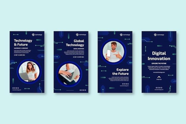Tecnologia e future storie di instagram
