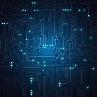 Technology geometric background