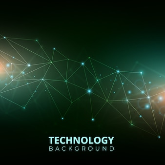 Technology gradient background