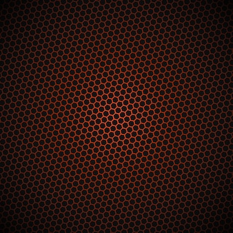 Technology hexagonal structure vector background