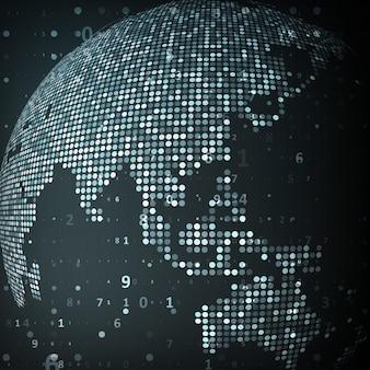 세계의 기술 이미지