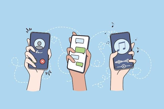Концепция беспроводной связи интернет технологии