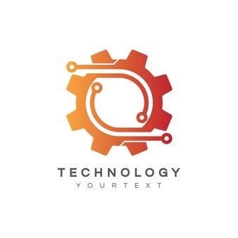 Technology logo design