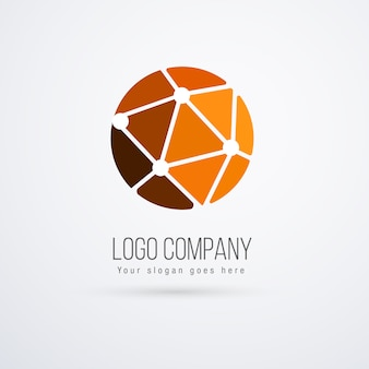 Technology logo template