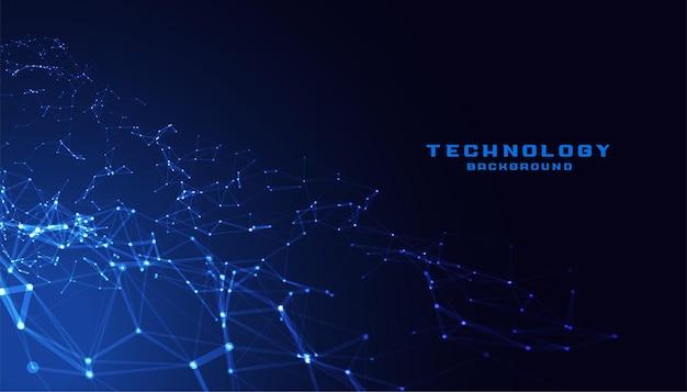 テクノロジー低ポリメッシュ接続ネットワーク