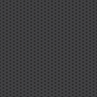 Technology perforated material vector seamless background