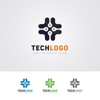Technology pro logo design
