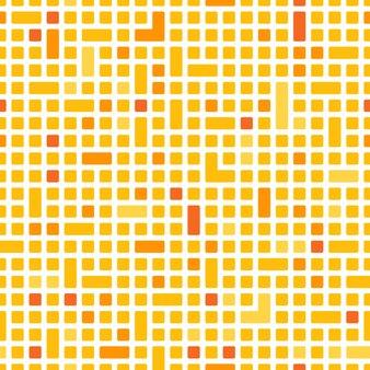 テクノロジースクエアまたはピクセルと長方形のパターンまたは背景