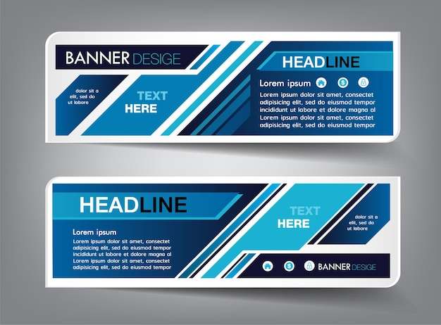 Technology text box template, banner infographic