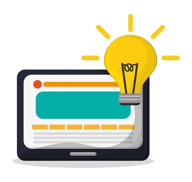 Technology web page idea creativity