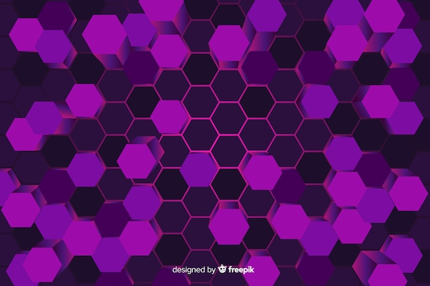 Technologycal honeycomb background