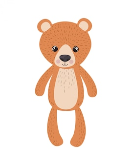 Teddy bear for baby room decoration