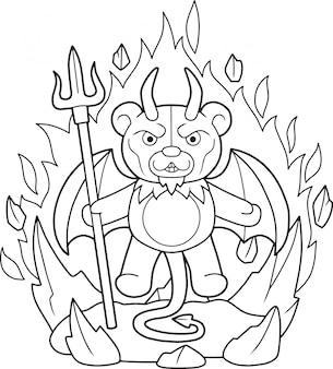 テディベア悪魔