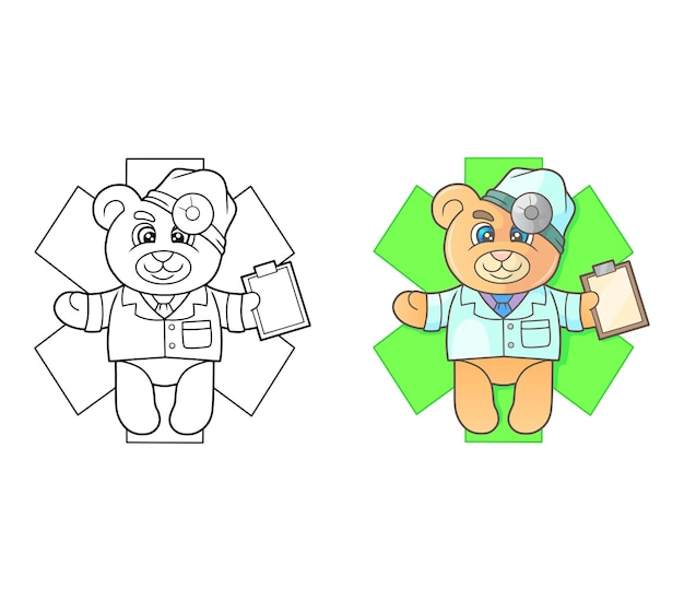 Медвежонок доктор
