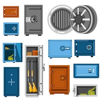 Teel boxesaves or money storages