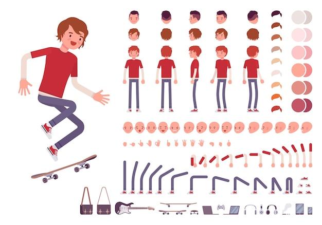 Набор для создания персонажей мальчика-подростка