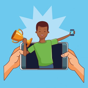 Teenagers and smartphone games