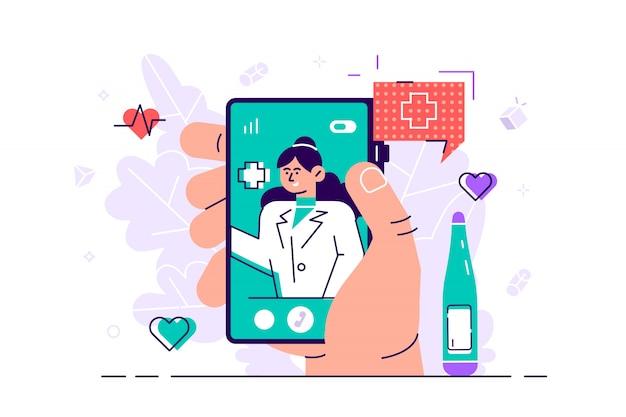 遠隔医学の概念