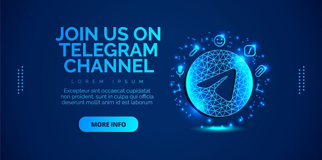 Telegram social media design