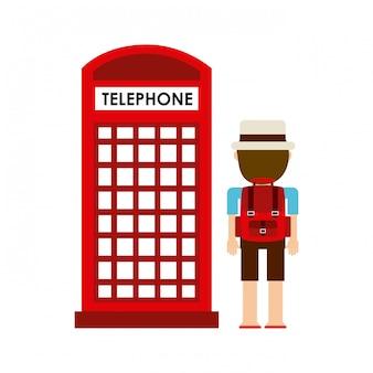 Telephone cab