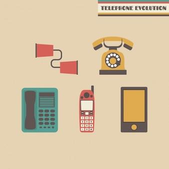 電話の進化の設計
