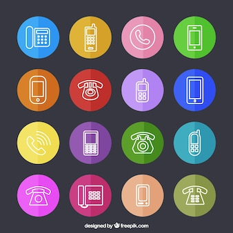 Телефон иконки