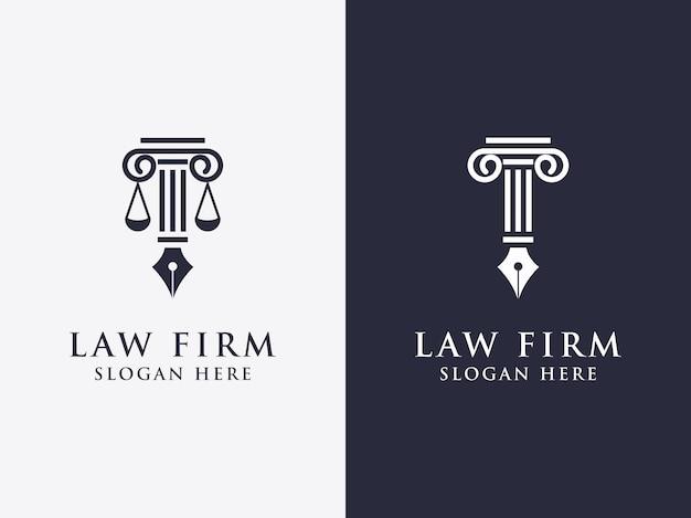 一時的な手紙の法則セットベクトルデザイン会社のロゴ