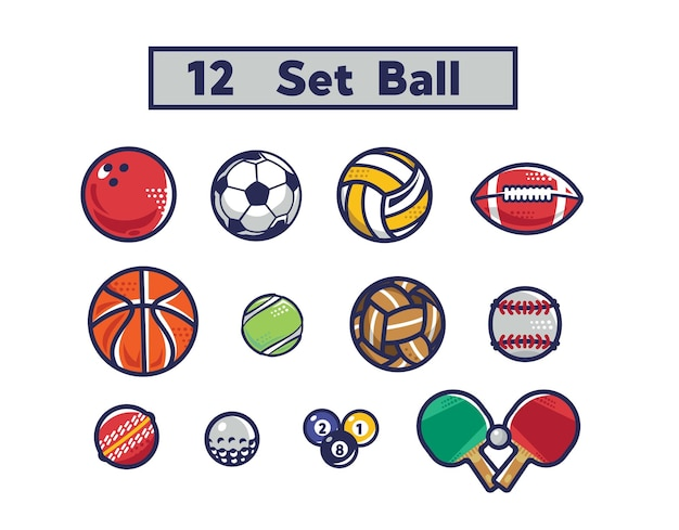 Template ball set