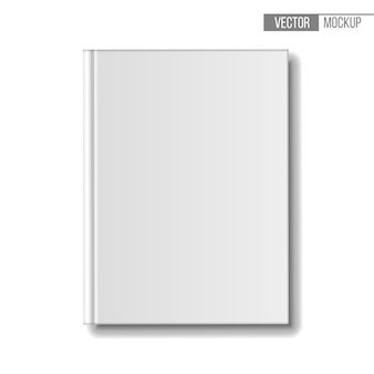 Template books on white background for your  and presentation.  illustration.