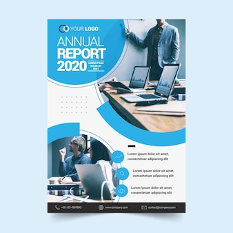 Template concept for annual report