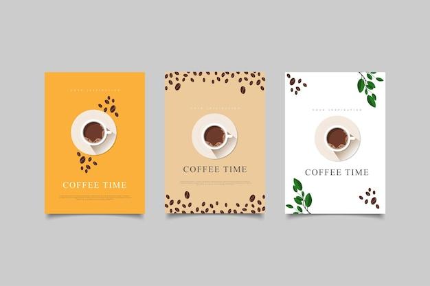 テンプレートカバーコーヒータイム