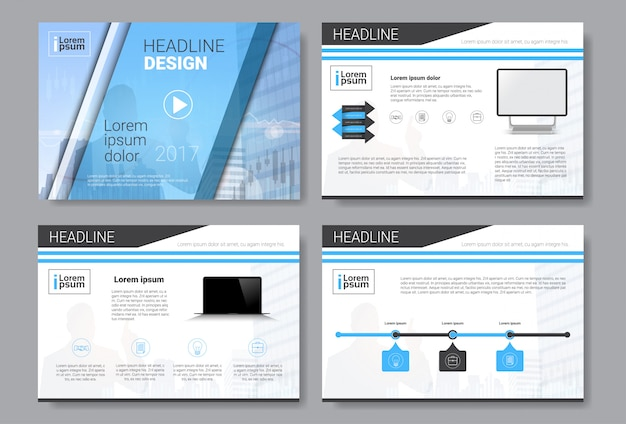 Template design brochure, annual report, magazine, poster, corporate presentation