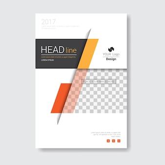 Template design brochure