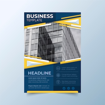 Template design for business
